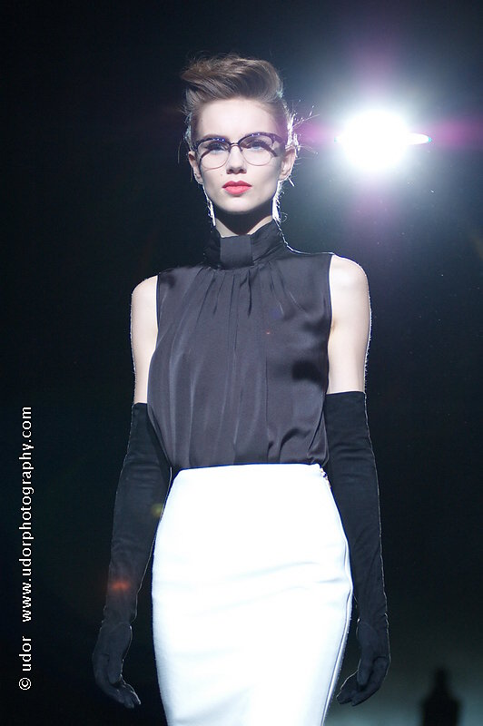 MB Fashion Week NYC, Fall 2013 Collection: Badgley Mischka